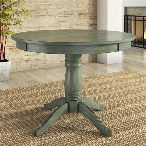 Round Wood Dining Table 42