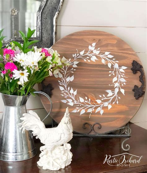 Round Wood Diy Craft Ideas
