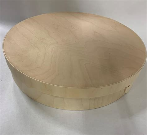 Round Wooden Boxes Crafts