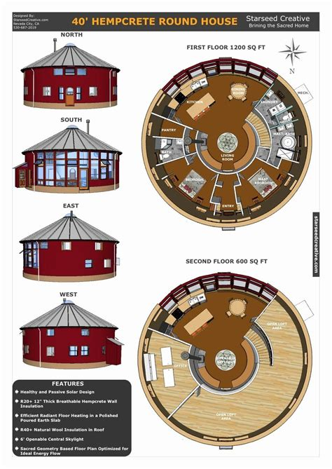 Round-House-Plans-Free