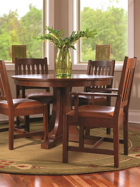 Round-Mission-Dining-Table-Plans