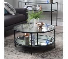 Best Round black coffee tables
