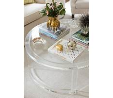 Best Round glass coffee table 59