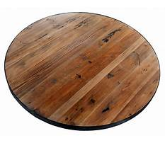 Best Round patio table wood