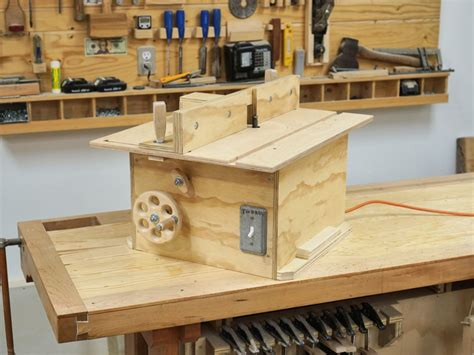 Router Bench Top Table Plans
