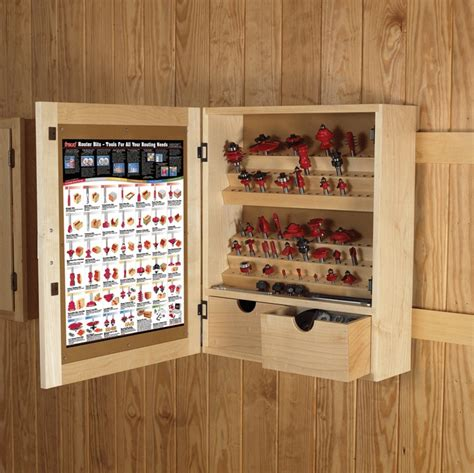Router Bit Storage Case Plans
