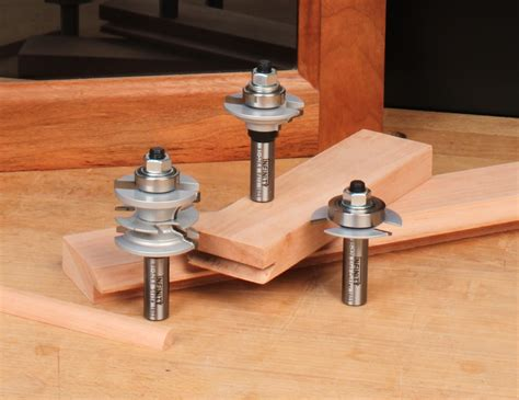 Router Bits For Cabinet Door Making Tools