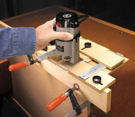 Router Hinge Jig Plans