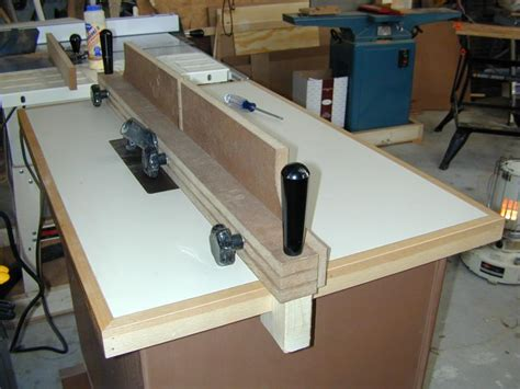 Router Table Diy Fence