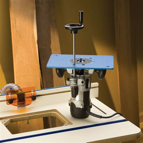 Router Table Height Adjustment Rods