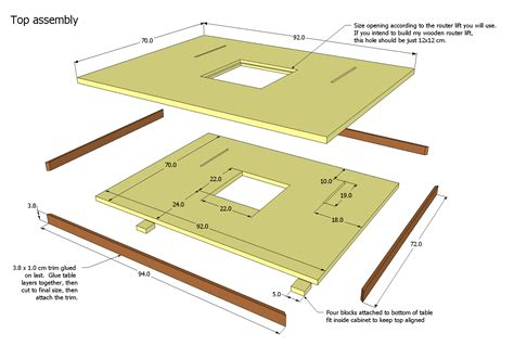 Router Table Plans Free Pdf