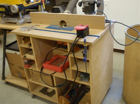 Router Table Plans Norm