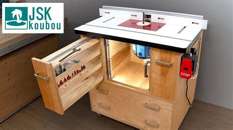 Router Table Plans Youtube
