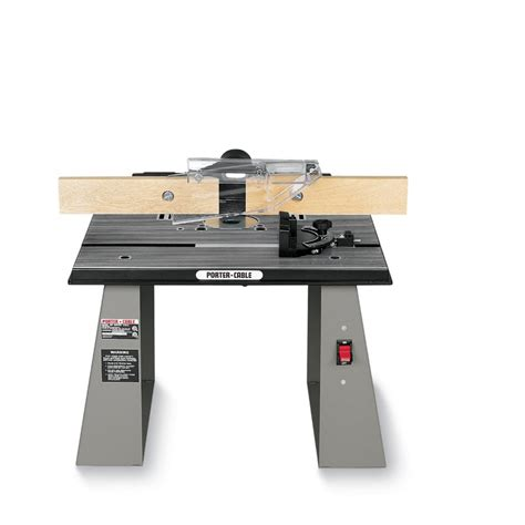 Router Table Porter cable 698 Bench Top Router Table