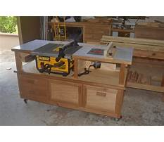 Best Router and table saw cabinet plans