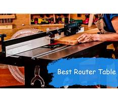 Best Router table plans uk