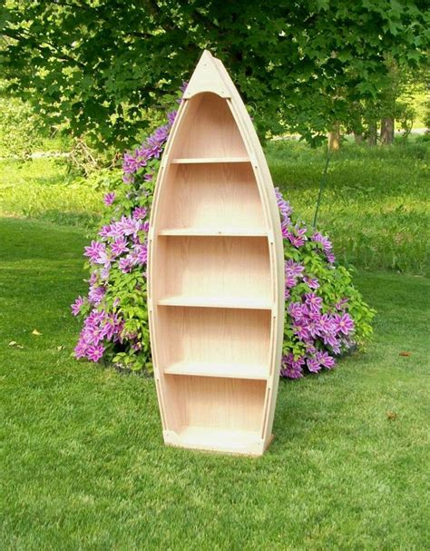 Row Boat Book Case