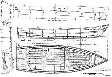Rowing Boat Building Plans Free