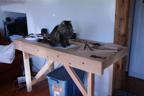 Roy-Underhill-Folding-Workbench-Plans