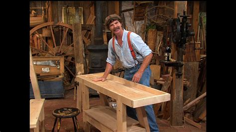 Roy-Underhill-French-Workbench-Plans