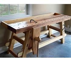 Best Roy underhill portable workbench plans