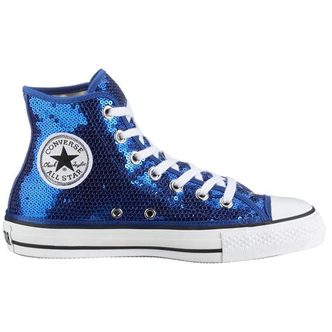 Royal Blue Converse Sneakers
