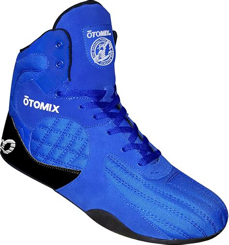 Royal Blue Stingray Escape Bodybuilding Weightlifting MMA & Boxing Shoe Men's
