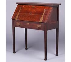 Best Roycroft antique drop front desk