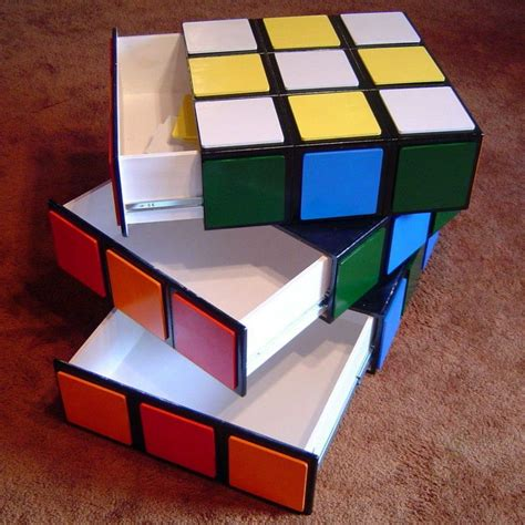 Rubik S Cube Table Diy Ideas
