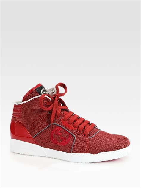 Ruby Red Gucci Sneakers
