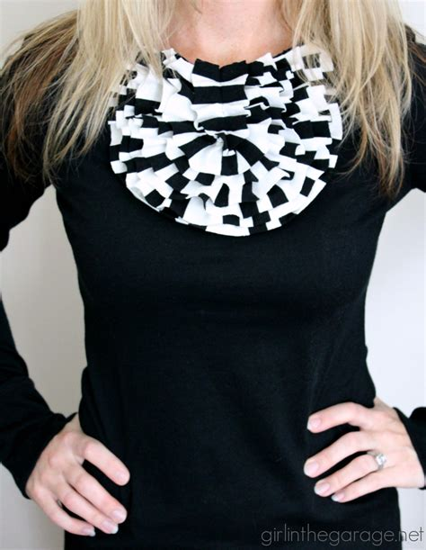 Ruffled Diy Shirt