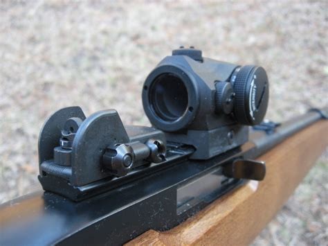 Ruger  10 22  Rail Aperture Sights  Tech Sights.