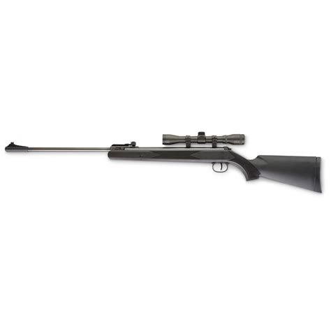 Ruger 177 Blackhawk Air Rifle With 4x32 Scope And Saint Rifle Scope And Ring Options