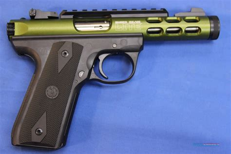 Ruger 22 45 Lite Green And Colt National Match
