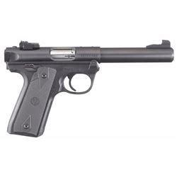 Ruger 40107 Mark Iv 22 Long Rifle Lr 5 5 10 1 Black And Trijicon Smith Wesson M P Series Night Sight Sa37 Sa37y