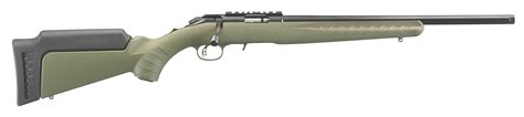 Ruger American 22 Long Rifle Threaded Barrel Od Green And Ruger American 22lr Rifle For Sale