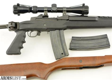 Ruger Mini 14 Ranch Rifle Tactical Stock And Spray Painting Your Rifle Stock