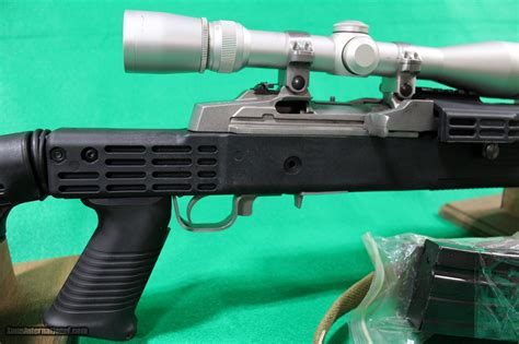 Brownells Ruger Mini 14 With Scope.
