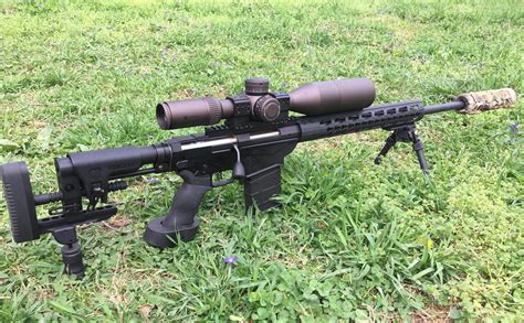 Ruger Precision Rifle In 6 5 Creedmore And Ruger Precision Rifle Models