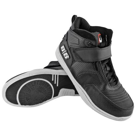 Run With the Bulls 2.0 Men's Moto Leather Shoes (Black, Size 11)