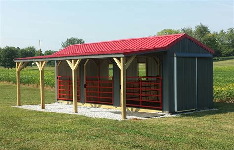 Run-In-Horse-Sheds-Plans