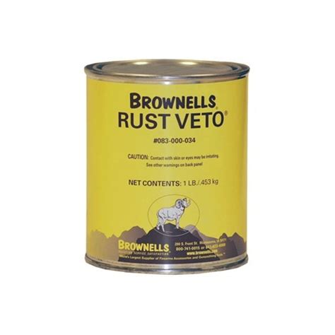 Rust Veto Brownells Rust Veto 1 Lb Brownells Uk And Wood Plus Winchester Stock Set Fixed Wood Sinclair Intl