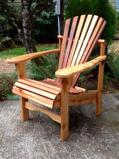 Rustic Adirondack Chair Plans