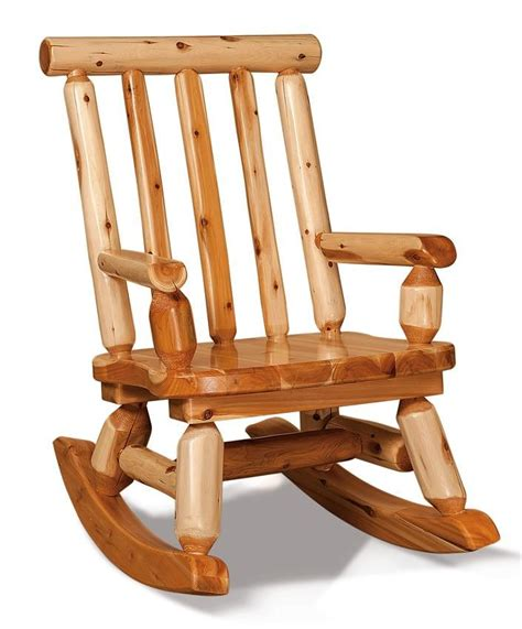 Rustic Amish Rocking Chair Plans