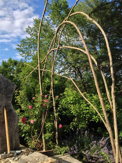 Rustic Arbor Plans DIY Wall