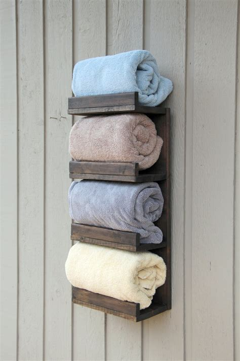 Rustic Bathroom Towel Rack Diy Slime