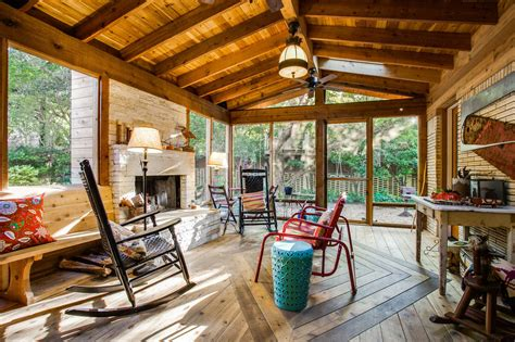 Rustic Cabin Plans With Porch