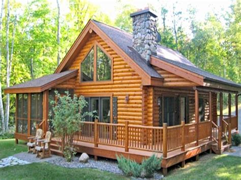 Rustic Cabin Plans With Wrap Around Porches