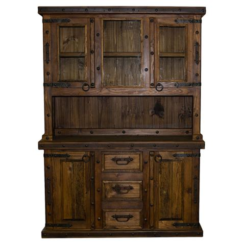 Rustic China Cabinet Plans