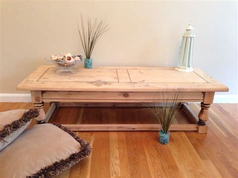 Rustic Coffee Table Build